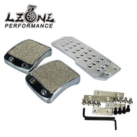 LZONE RACING Brake Foot MT Pedals For DC2 EK9 DC5 EG6 DC5 EK4 S2000 Mugen Pedal