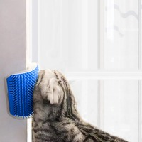 angle-face-tickling-massage-catnip-hair-removal-brush-combs-cat-scratch-board-scratching-post-cat-pet-grooming-tool-pet-supplies