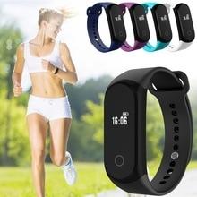 Exrizu спортивные смарт-браслет A16 Bluetooth Smart часы здоровья запястье браслет монитор сердечного ритма для мужчин и женщин Android IOS
