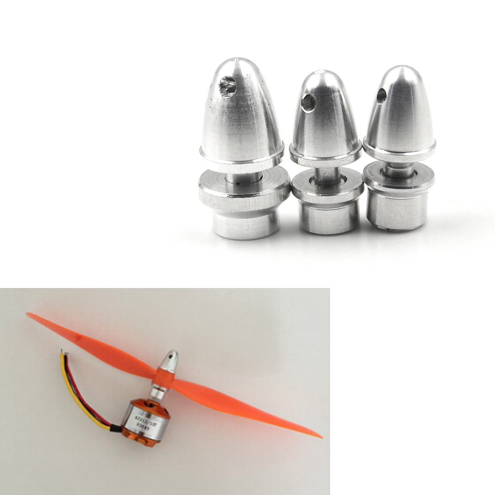 RC Aluminium Bullet Propeller Adapter Holder Brushless Motor Prop Parts /_*