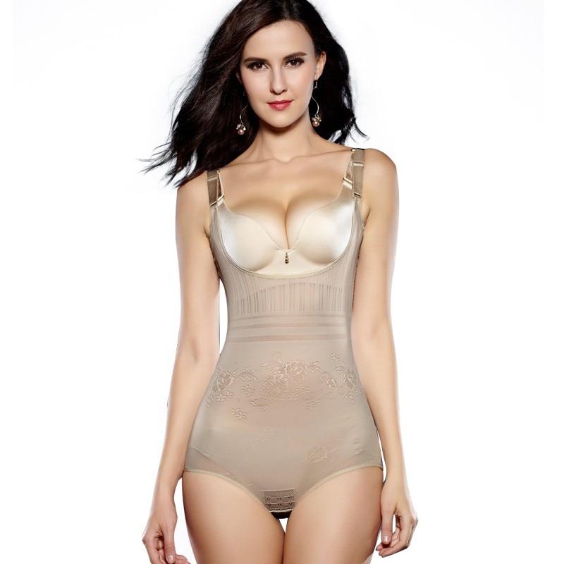 BEFORW Women Sexy Lingerie Slimming Bodysuit Body Shaper Women Postpartum Recovery Waist Slimming Shapewear Seamless