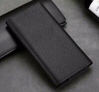 Genuine Wallet Leather Mobile Phone Case For Xiaomi Redmi Y1 Y1 Lite Mi A1 Mi Note