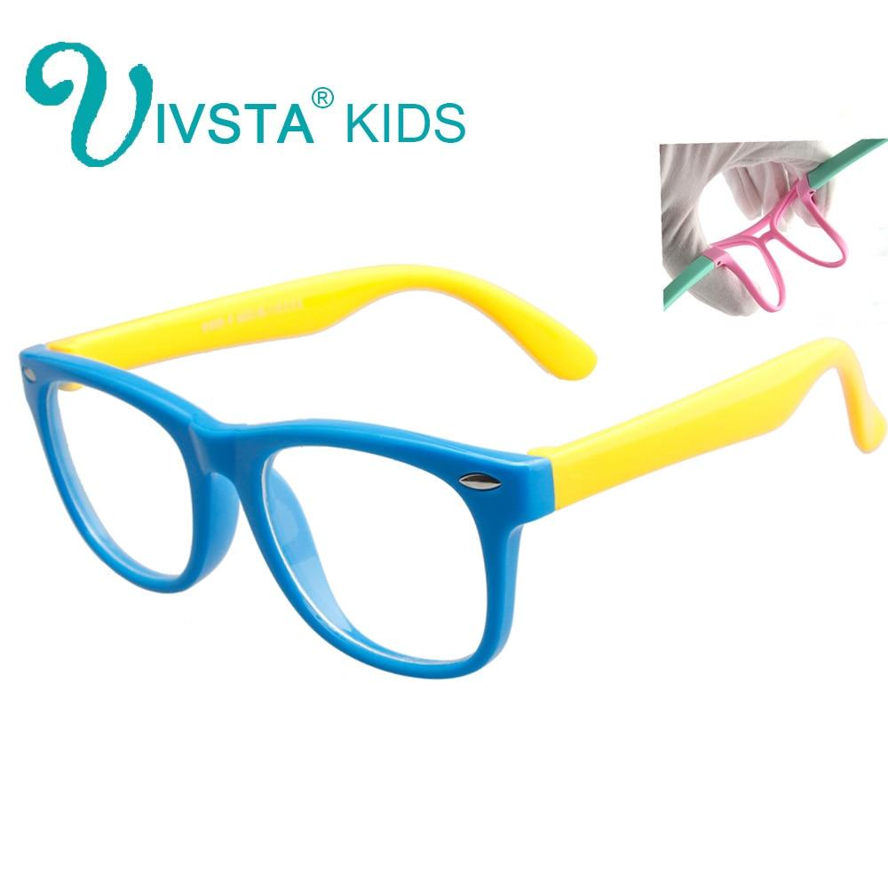 IVSTA Ochelari optici flexibili Super Light Ochelari de protecție pentru copii Ochelari de protecție pentru copii Ochelari de protecție pentru copii TR90 Bărci din silicon