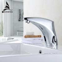 Łazienka Kran Elektryczny Czujnik Automatyczny Bezdotykowa Kitchen Sink Basin Bateria Kran Ciepłej I Zimnej Wody Zawory Mieszające 8910