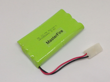 Brand New 9.6V 1800mAh Ni-MH AA Battery Rechargeable Batteries Pack With Plugs Free Shipping