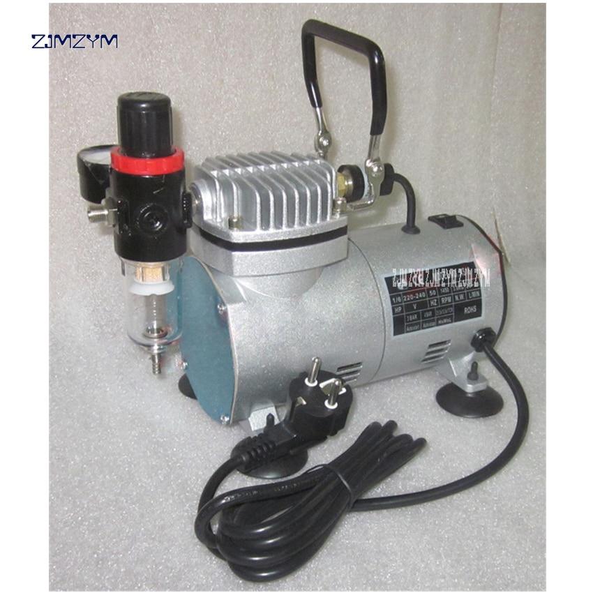 Mini air compressor mini mute pump model spray pump art inkjet pump 22011 1450 / 1700rpm Speed, 20-23L / min Displacement