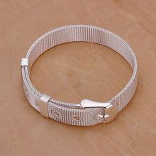 Free shipping jewelry silver plated jewelry bracelet fine fashion bracelet top quality wholesale and retail SMTH237(China)