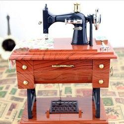 Musical boxes treadle sartorius toys retro birthday gift home decoration accessories vintage lockwork sewing machine music.jpg 250x250