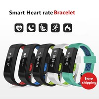 ZoneQuality ID115s Smart Band Bluetooth Pedometer Heart rate monitoring Bracelet Fitness Tracker Camera for Android iOS