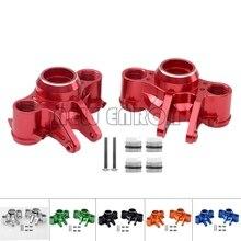 NEW ENRON 1:10 2Pcs Aluminum Alloy Axle Carriers Left & Right #8635 For Traxxas 1/10 E Revo 2.0 VXL Brushless 86086 4
