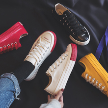 Canvas Fashion Shoes Woman 2019 Spring New Fashion Candy Col