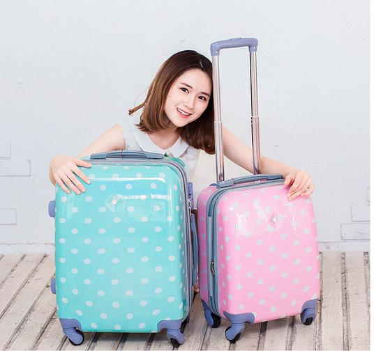 Pink Suitcases For Girls Mc Luggage
