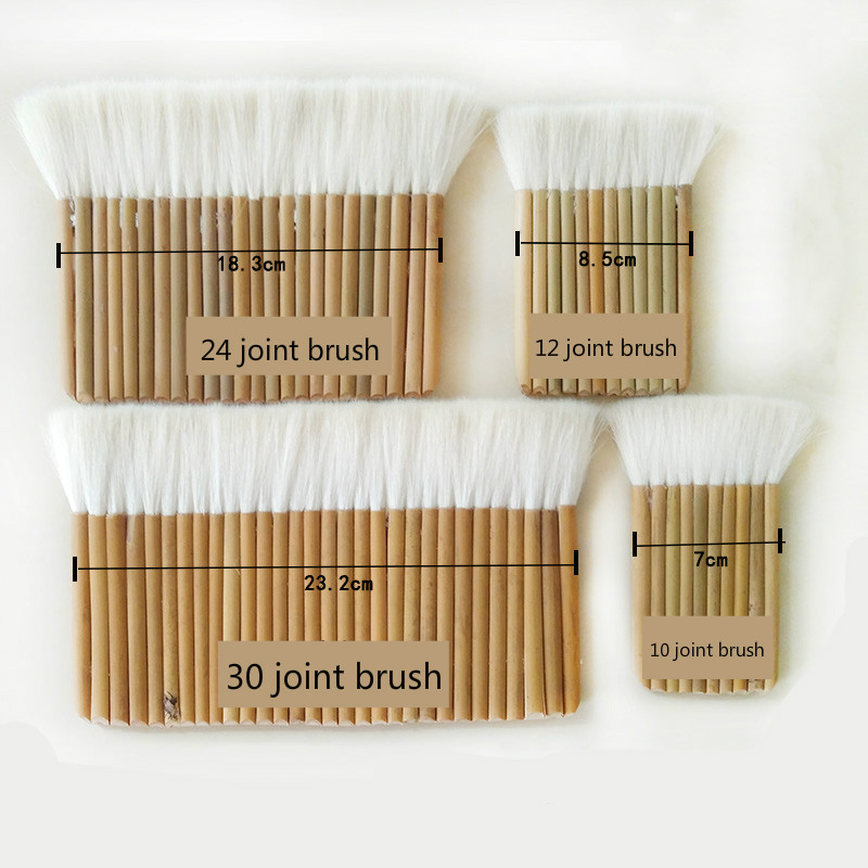 Thickened Soft Wool Hair Brushes Paint Joint Brush For Painting Whitewashing Bamboo Handle Oil And Watercolor Brush Paint Tools