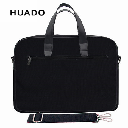 Black Business Laptop handbag 15 6 15inch men notebook Briefcases 13 17 18 canvas laptop bags