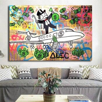 Alec Monopoles Pj Fly Hd Art Mural Toile Pour Affichage Et Imprimer