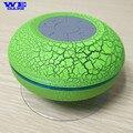 Colores!!! lechón Baño A Prueba de Polvo Impermeable Ducha Altavoz Bluetooth Inalámbrico Con Luz LED Coche Altavoz Manos Libres para el teléfono