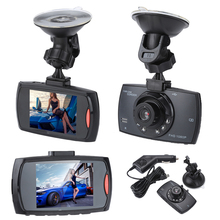 "2017 New 2.4"" Night Vision 6 LEDs Wide Angle Lens Car Camera Recorder Car Cycle Recoder DVR Dashcam Car Styling(China)"