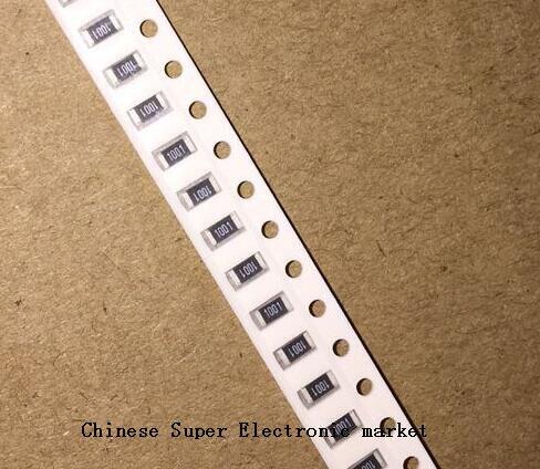 200 шт. 1% SMD резистор 0R ~ 10M 1/4W 0 1206 1 10 0,1 100 150 Ом 1K 220 K 10K 330 K 0R 1R 10R 100R 150R 220R 330R 1 м 10 м