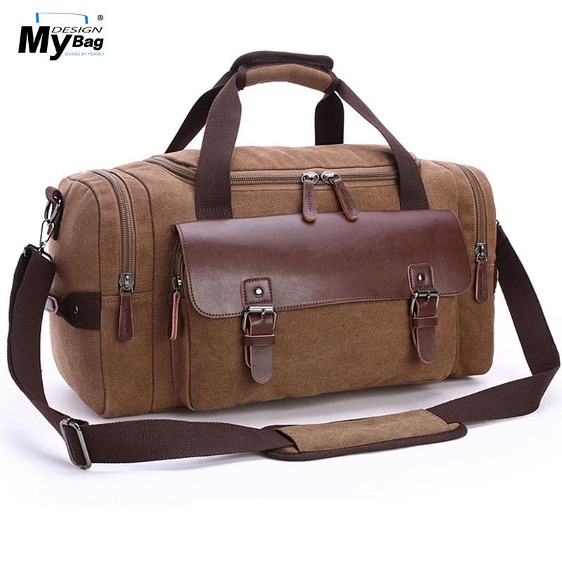 DESIGN MYBAG Mode Extra Stor Weekend Duffel Bag Meddelande Väska - Väskor för bagage och resor - Foto 4