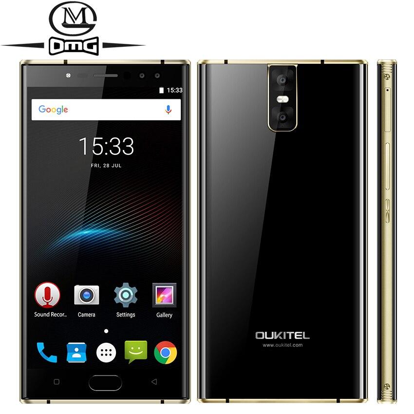 Oukitel K3 6000mAh mobile phone MT6750T Octa Core 4GB RAM 64GB ROM 5 5 Dual 2