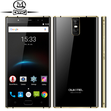 """Oukitel K3 6000mAh mobile phone MT6750T Octa Core 4GB RAM 64GB ROM 5.5"""" Dual 2.5D Screen 4 Cameras Front Fingerprint Smartphone"""