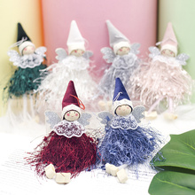 Cute Angel Doll Christmas Decoration Pendant Kawaii Tree Hanging Ornament For Home navidad Xmas