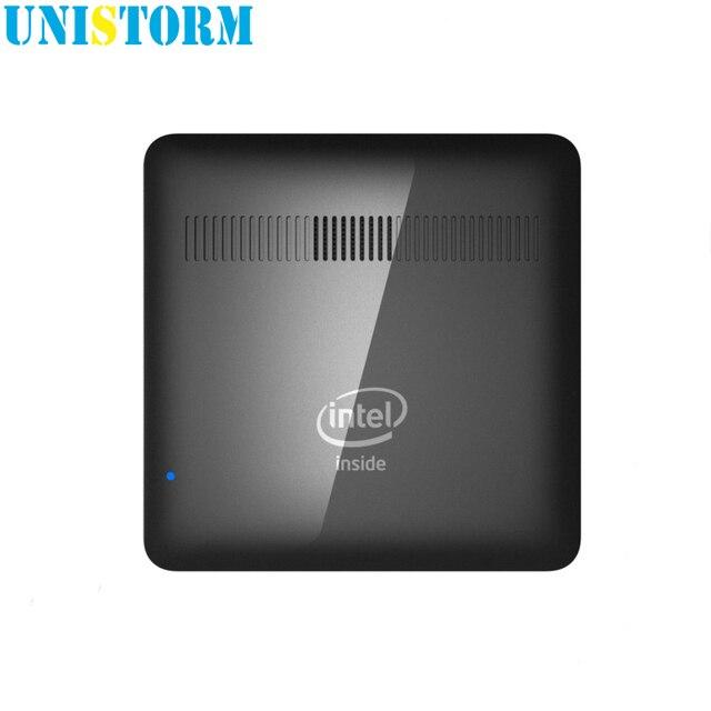 Unistorm Original Licence Windows 10 Mini PC Computer Intel Atom Z8350 Quad Core 2G 32G Dual Band WIFI BT 4.0 4K Smart TV box