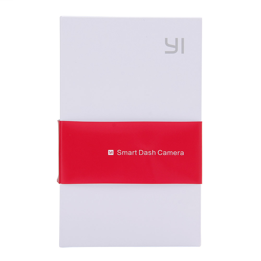 [Édition internationale] Xiaomi YI Smart Voiture DVR 165 Degrés 1080 p 60fps Voiture Détecteur 2.7