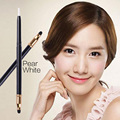 Pear White Retractable Eye Shadow Pencil With Sponge Women Lady Beauty Make Up EQA816 POK