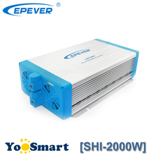 2000W EPEVER Pure Sine Wave Inverter 24VDC to 220VAC  SPWM Technology Switched Output Voltage and Frequency High frequency