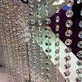 De cordas Tassel da Cortina de Contas de Cristal Partição Divisor De Porta Janela Bonita 1*0.15 M Decoração Loja Coffeeshop 5 pcs