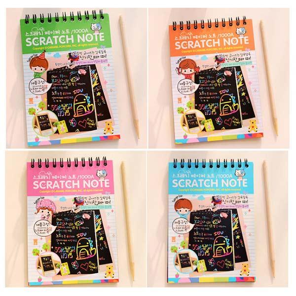 Kids-Stationery-Notebook-Scratch-Journal-Wooden-Stylus-Scratch-Paper-Note-Drawing-Educational-Toys-Random-Color-Z322-F-3
