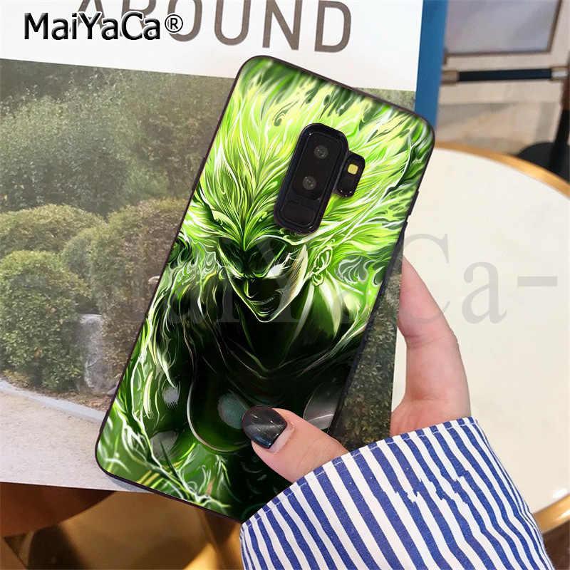 MaiYaCa Dragon Ball Saiyan Goku Vegetto Broly TPU Telefoon Case Cover voor SamsungS9 S9 plus S5 S6 S6edge S6plus S7 s7edge S8 S8plus