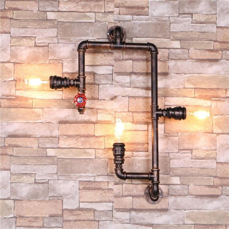 Industrial Lighting Lighting Rustic Light Steampunk: NEW Industrial Steampunk Wall Lamp Retro Wall Light Rustic