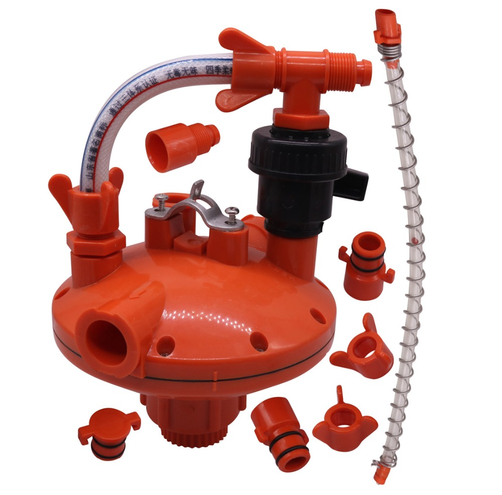1 set Water Pressure Regulator Chicken Nipple Drinker Lnstall Accessories Farm Animal Supplies Feeding Watering Supplies1 set Water Pressure Regulator Chicken Nipple Drinker Lnstall Accessories Farm Animal Supplies Feeding Watering Supplies