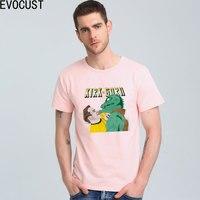 KIRK GORN SPOCK Star Trek T Shirt Top Lycra Cotton Men T Shirt