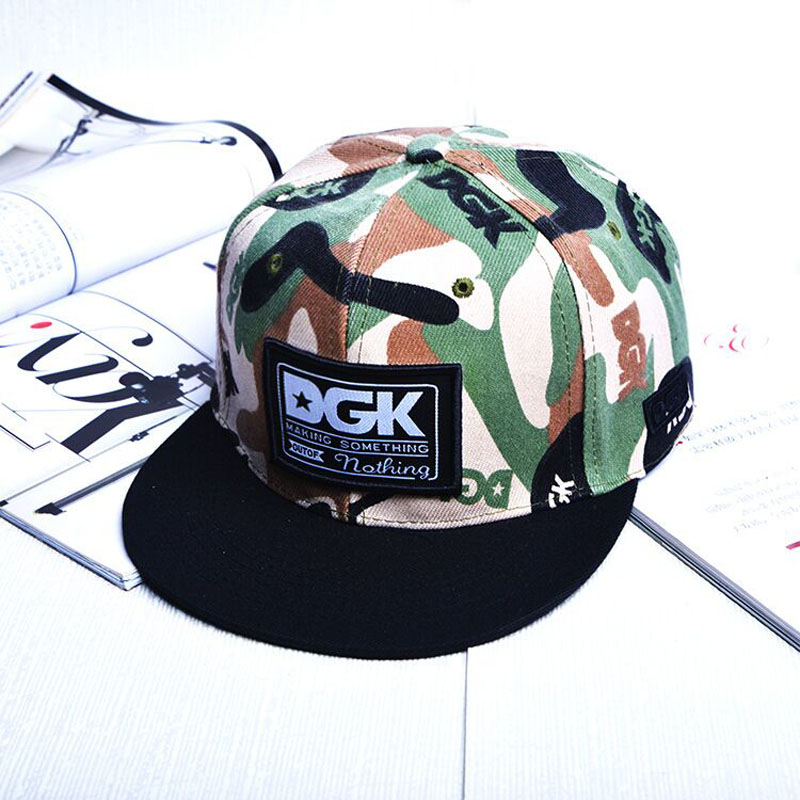 New Brand DGK Snapback Caps Fashion Baseball Cap Gorras Planas Hip Hop Hats Flat Brimmed Casquette Hat For Men Women hot 2017 ny hats new fashion unisex new york baseball cap gorras sports outdoor brand ny snapback hat hip hop caps for men women