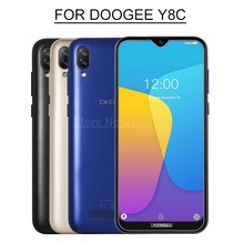For Doogee Y8C Glass Tempered Glass 9H 2.5D Premium Screen Protector Film Cover For Doogee Y8c Smartphone 6.1 Android 9.0(China)