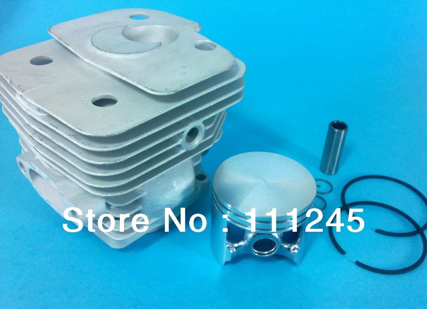 CYLINDER KIT 56MM FOR HUS. CONCRETE CUT OFF SAW  K950   ZYLINDER ASSEMBLY  W/ PISTON RING PIN CLIPS ASSY  REPL. # 506 15 55-06 manufacturers 5200 chainsaw cylinder assy cylinder kit 45 2mm parts for chain saw 1e45f on sale