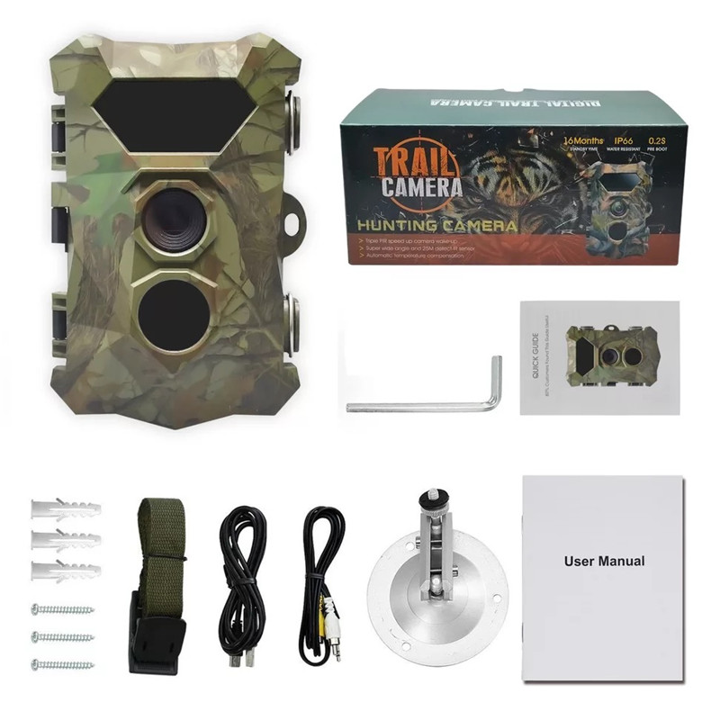 Foto Traps Trail Camera H903 12MP 1080P Night Vision Scout Guard Hunter Cameras Photo Traps Chasse Hunting Cameras For Game Hunting WildCams (20)