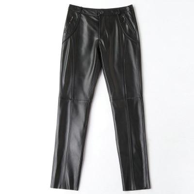 2019 New Fashion Genuine Sheep Leather Pants H11