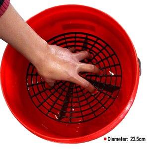 Image 5 - Защита от гравия для мытья автомобиля, фильтр для мойки воды, защита от царапин, снежный пистолет, микрофибра, полотенце, ткань, губка, коврик для очистки