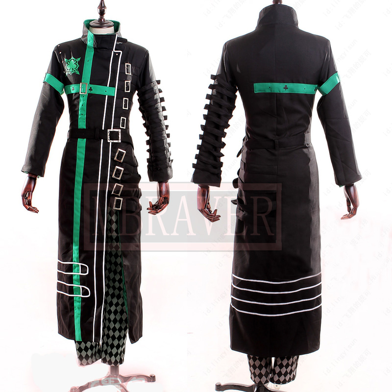 Japanese Anime Amnesia Kent Cosplay Costume Custom Made