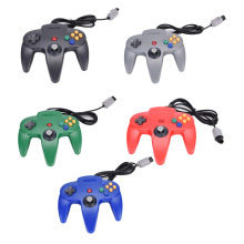 1x Long Handle Gaming Controller Pad Joystick For Nintendo N64 System