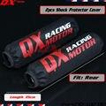 2 pcs 350mm Shock Absorber Suspensão Traseira Protector Proteção Capa Para KTM CRF YZF KLX Bicicleta Da Sujeira Da Motocicleta ATV Quad Motocross