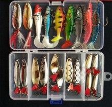 FJORD costumes chauds! Leurre souple en métal VIB appât souple Kit de paillettes appât artificiel couleurs mélangées/Style leurres de pêche