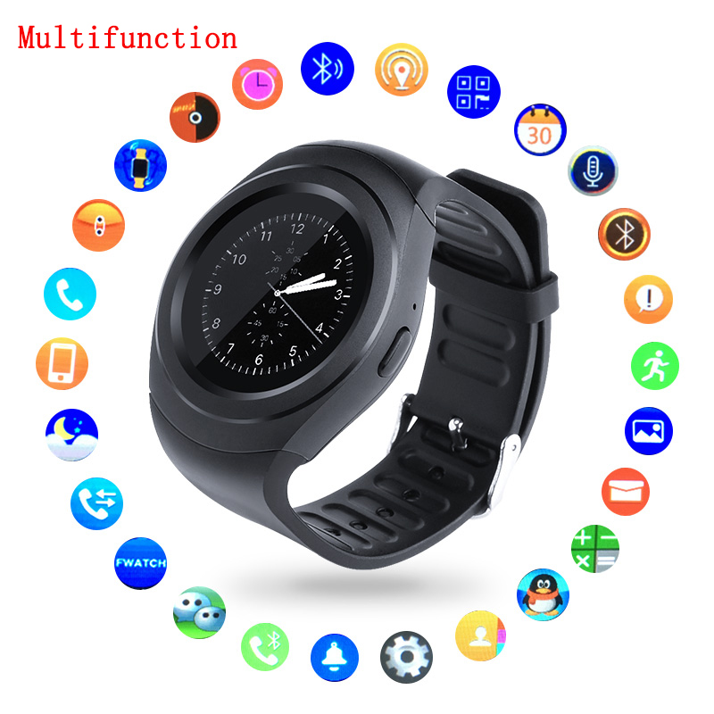 T11 Pro Smartwatch Bluetooth Smart Uhr Reloj Relogio GSM SIM Sync Mp3 für Apple iPhone Xiaomi Android Handys PK DZ09 KW18 Y1