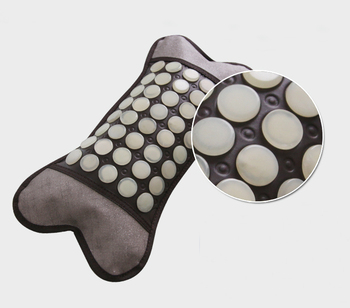 2016 Neck Health New Products! Jadse Massage Magnetic Therapy Jade Stone Pillow Free Shipping
