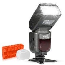 Meike MK950 TTL I TTL 8 Brightควบคุมกล้องแฟลชSpeedliteสำหรับNikon D5300 D7100 D7000 D5200 D5000 D3100 D3200 D600 d90 D80