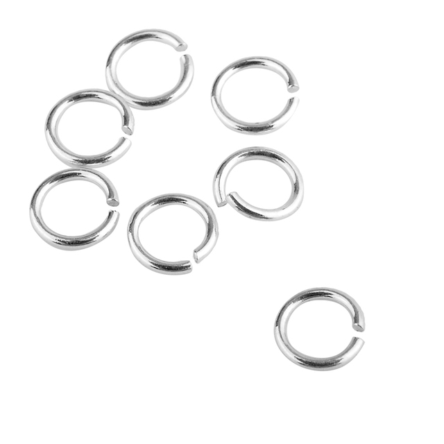 Jewelry Design Supplies S Sterling Silver Open Jump Rings For DIY